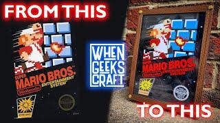 Remaking the original Super Mario's game box art
