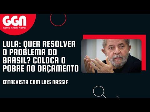 Lula na TV GGN: Educação, redução da pobreza e uberização do trabalho