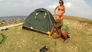 Обзор  палатки Tramp Scout 3