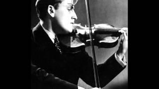J S Bach, Violin Concerto in E BWV 1042. Yehudi Menuhin / George Enescu -1933!!