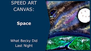 pebeo mixed media canvas space inc dyna vitrail prisme and moon paints