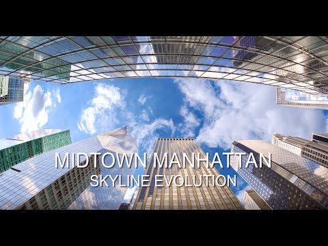 The Rise of the Midtown Manhattan Skyline