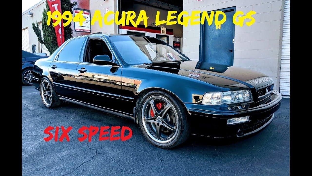 Acura Legend GS Sedan Speed Manual KA Nd Gen SOLD YouTube - Acura legend manual transmission for sale