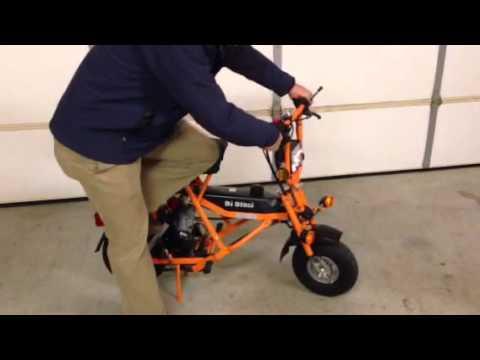 Di Blasi Scooter R7-E Start Video - YouTube