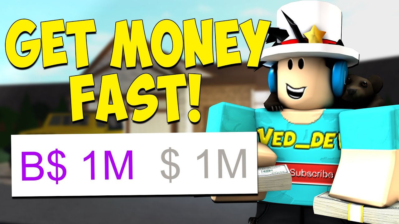 How To Get Money Fast In Bloxburg Roblox Youtube