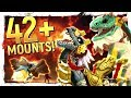 42 MOUNTS & MORE TO COME: Battle for Azeroth New Mount Preview - World of Warcraft