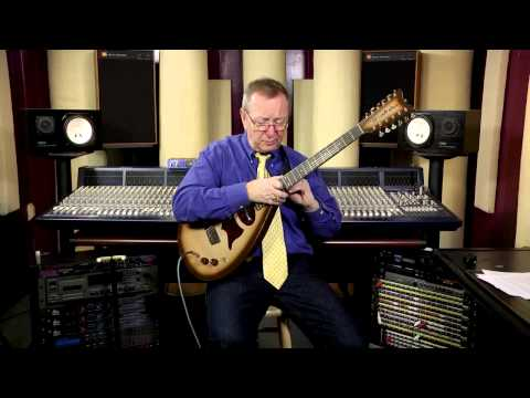"Electric Guitar - 1963 Danelectro ""Vincent Bell Bellzouki"" Lipstick Pickup Brownburst- 515-864-6136"