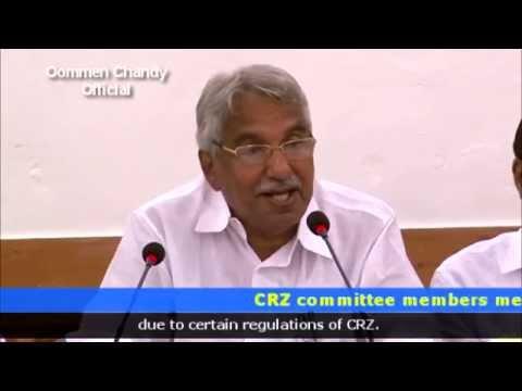 CRZ committee members meet Oommen Chandy