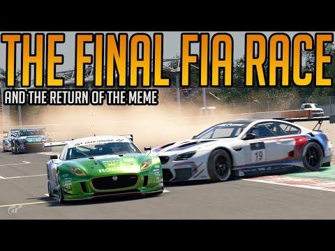 Gran Turismo Sport: The Final FIA Race