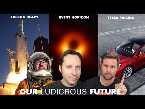 Ep 29 - Falcon Heavy, Event Horizon and Tesla Pricing Changes