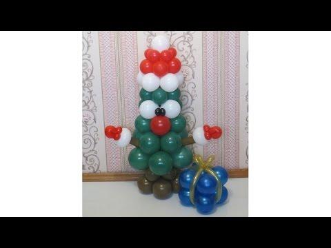 🎄 Новогодний декор за 5 минут: ёлка из воздушных шаров своими руками