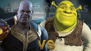 Thanos vs Shrek. Épicas Batallas de Rap del Frikismo ¡Bonus! | Keyblade