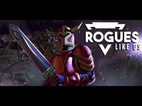 Rogues Like Us  Gameplay & Boss Fight PC