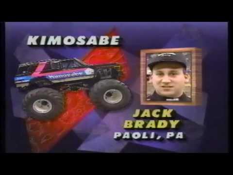 1991 PENDA Monster Truck Challenge RCA Dome