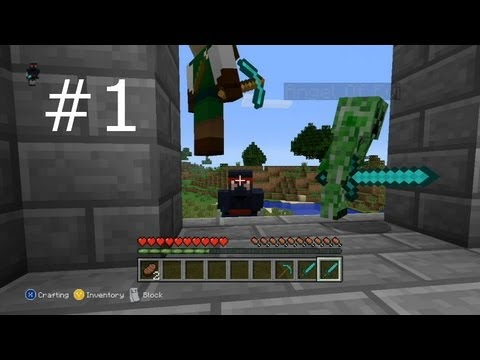 Lets Play Minecraft Ep1 (SilverFish Challenge)