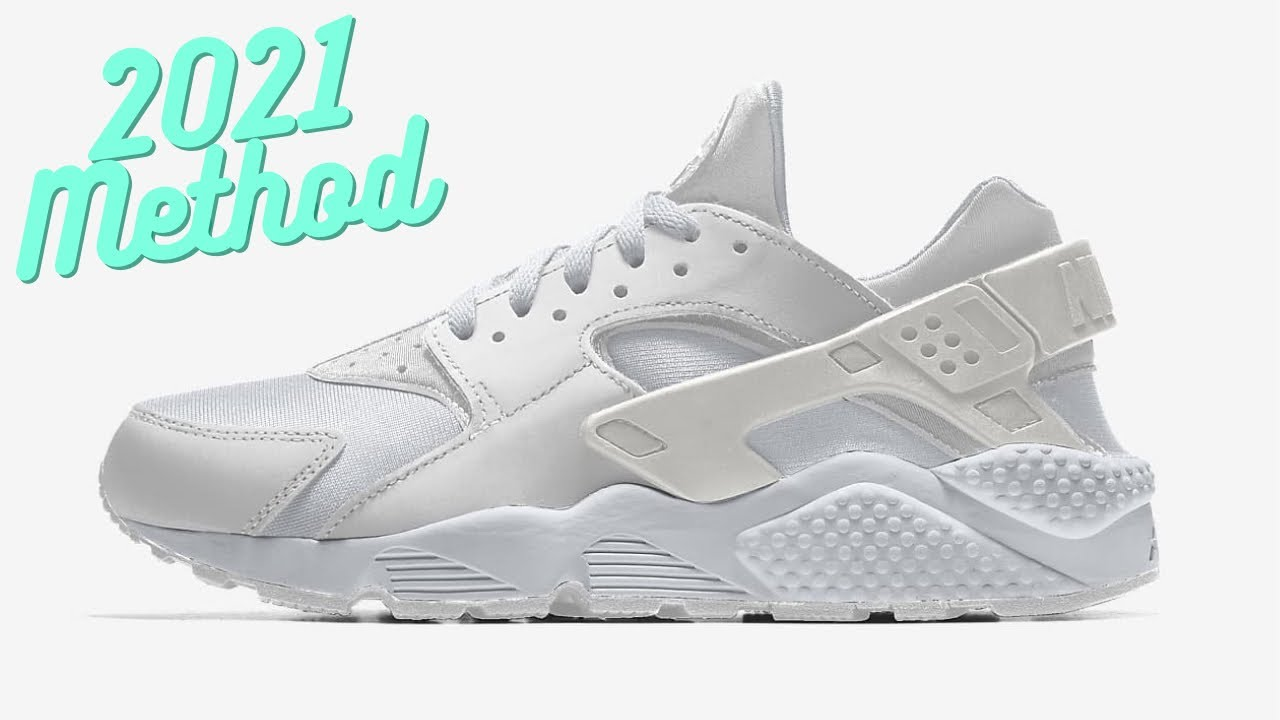 2a72dd15cfb4 How to Clean All White Shoes + Lace (Huaraches) - YouTube