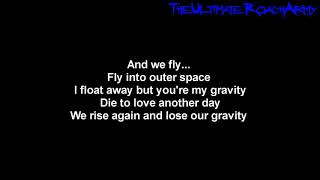 Papa Roach ft. Maria Brink - Gravity [Lyrics on screen] HD