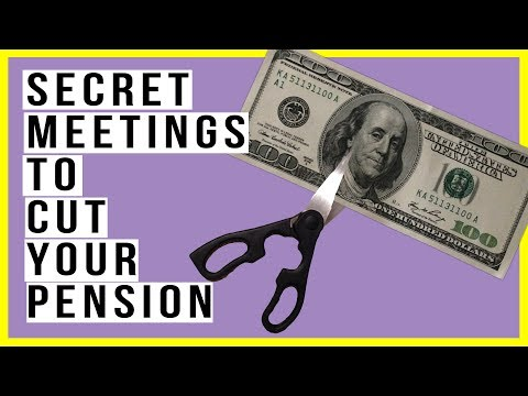 They Are Having SECRET Meetings To Discuss When To Cut Pensions! Global Pension Cuts Coming!