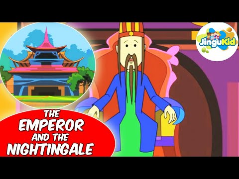 THE EMPEROR AND THE NIGHTINGALE |  Fabulous Folk Tales | Animation | Preschool | Kids | Kindergarten