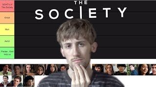The Society Characters Ranked Tier List