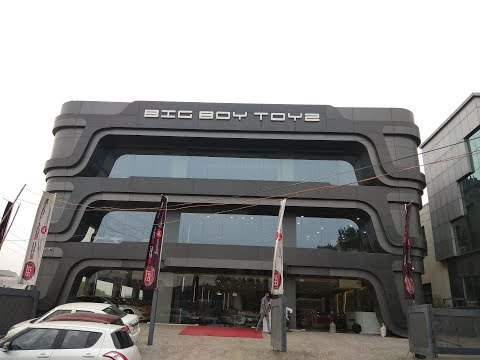 Big Boy Toyz Gurgaon -Home of Exotic Supercars|Must Watch|Full journey.