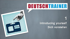 Deutschtrainer ENGLISH | German for beginners (A1/A2)