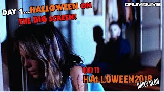 #R2H2018 DAILY VLOG DAY 1...HALLOWEEN ON THE BIG SCREEN