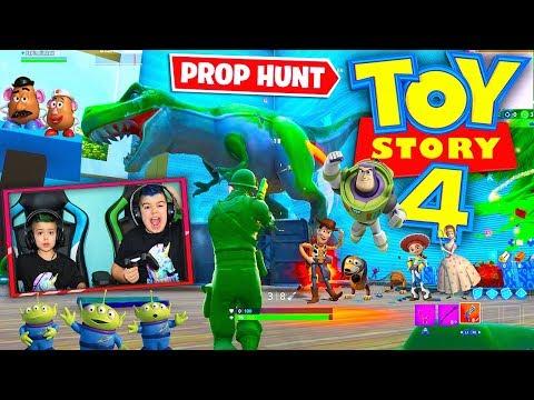 *PROP HUNT* TOY STORY 4 EN FORTNITE!!!
