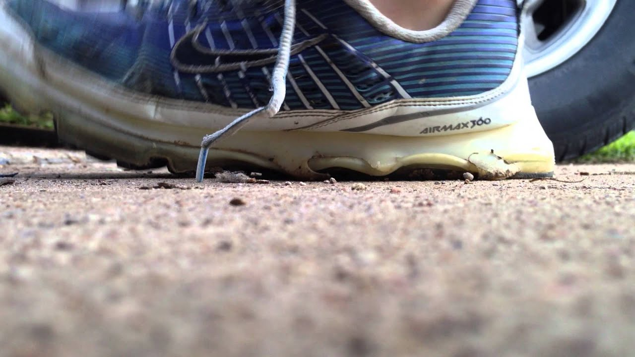 Nike Air Max 360s Worn Out
