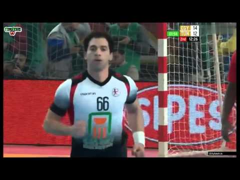 22nd African Men's Handball Championship - Egypt all goals part 1