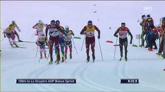 15 km, klassisk stil, herrar, Tour de ski 17/18