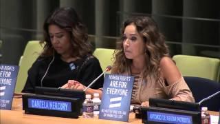 Na ONU, Daniela Mercury e Malu Verçosa participam de evento sobre direitos das pessoas LGBTI
