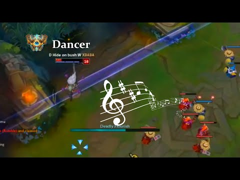 LoL Funny Moments Episode 40 Dancer Yasuo (League of Legends)