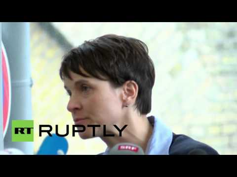 Germany: AfD's Frauke Petry speaks on refugee attacks, Brexit and EU