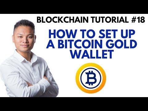 Blockchain Tutorial #18 - How To Setup A Bitcoin Gold Wallet