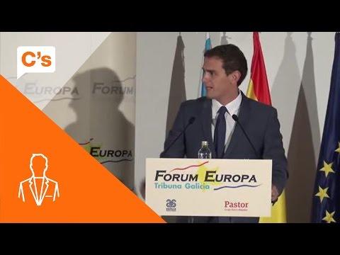 Nueva Economía Forum en Santiago. Presentación de Albert Rivera