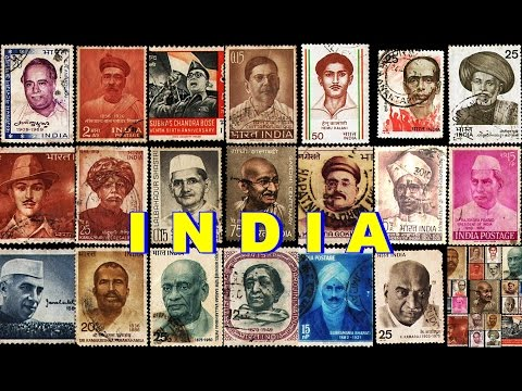 POSTAGE STAMPS OF INDIA IN GOOGLE EARTH PART ONE