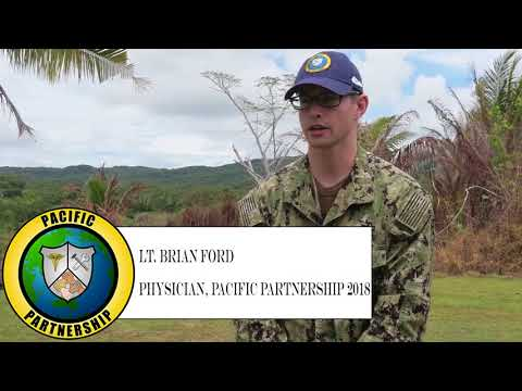 DFN: Health Fair teaches Palau during Pacific Partnership 2018 mission stop, Palau PALAU, 04.12.2018