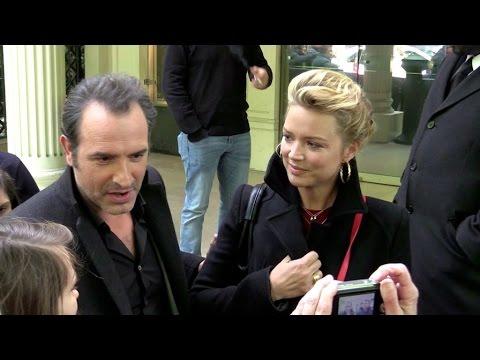 EXCLUSIVE: Jean Dujardin et Virginie Efira stars de Vivement Dimanche a Paris