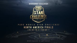 PMSC NA Finals Day 2 | Galaxy Note9 PUBG MOBILE STAR CHALLENGE - North America Finals Day 2