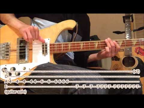 The Killers Smile Like You Mean It Bass Cover With Tabs And