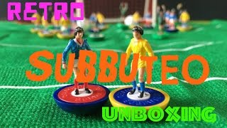 Subbuteo Soccer Football Toy Unboxing Goal!