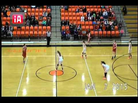 Girl's High School Basketball - Hillsboro @ Wilmington 01-07-2015