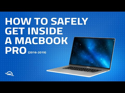 Get Inside a 2016 - 2019 MacBook Pro Safely and Simply