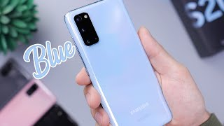 Blue Galaxy S20 Unboxing & First Impressions!