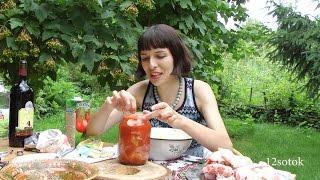 видео Маринад для шашлыка с томатным соком