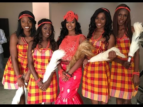 Vlog | Nigerian Wedding (Igba Nkwu) Part 1 - IfyYvonne