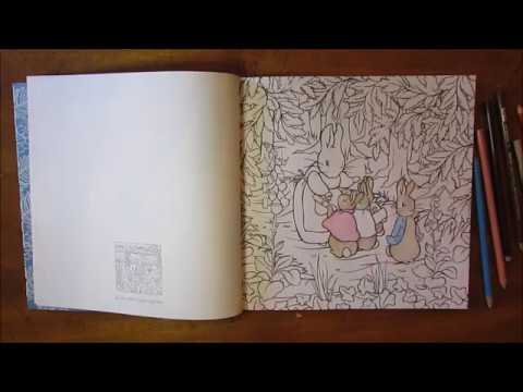 Peter Rabbit Coloring Book - Speed Coloring - Beatrix Potter Coloring Book