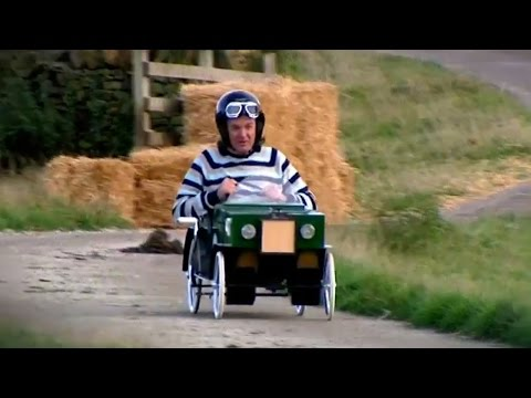 James May vs Children Go-Kart Race | My Sister's Top Toys | BBC Studios