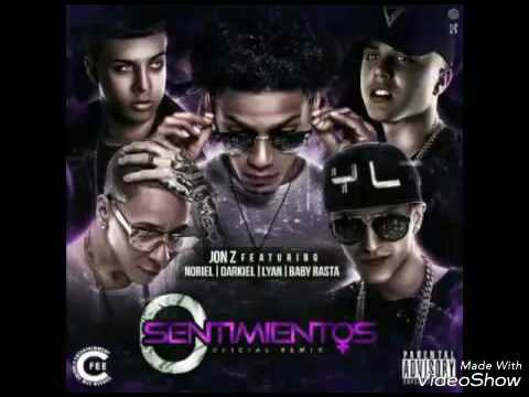 0 Sentimientos Remix - Jon z Ft Baby Rasta - Noriel - Darkiel - Lyan & Messiah